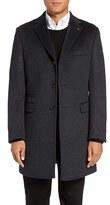 Ted Baker Men's Alaska Trim Fit Wool & Cashmere Overcoat