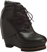 Max Studio Axis - Leather Wedge Oxford Booties