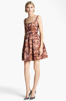 Christopher Kane Sleeveless Floral Print Dress
