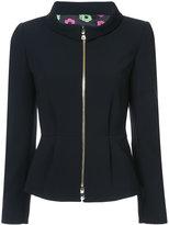 Moschino front zipped jacket