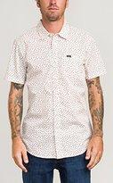 RVCA Men's Brush Block Short Sleeve Woven Shirt