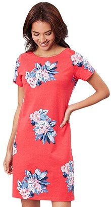 Joules Riviera Print (Floral Red) Women's Clothing