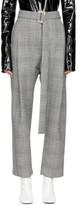 Ellery Black and White Kool Air Trousers