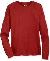 American Rag Men's Thermal-Knit Raglan-Sleeve T-Shirt, Only at Macy's
