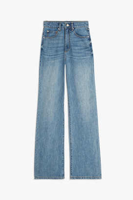 WeWoreWhat High-Waisted Wide Leg Jean