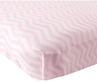 Luvable Friends Fitted Knit Crib Sheet, One Size