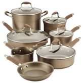 Anolon Advanced Umber 12-Piece Hard Anodized Nonstick Cookware Set