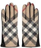 Burberry Wool Nova Check Gloves w/ Tags