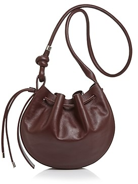behno Ina Leather Bucket Bag