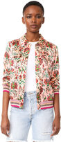 Scotch & Soda/Maison Scotch Floral Bomber Jacket