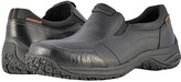 Dunham Litchfield Slip-On Waterproof (Black) Men's Slip on Shoes