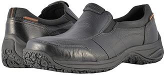 Dunham Litchfield Slip-On Waterproof (Black) Men's Slip on Shoes