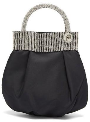 Rosantica Follie Crystal Taffeta Bag - Black Multi