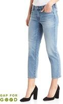 Gap Washwell mid rise slim crop jeans