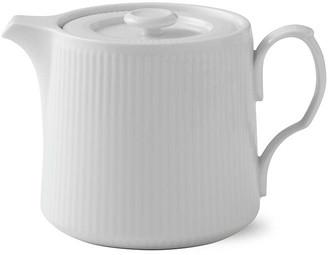 Royal Copenhagen Fluted Teapot - White