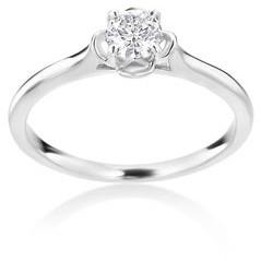 Summerrose Jewelry Summer Rose 14k White Gold 1/3ct TDW Diamond Ring