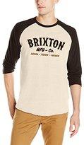 Brixton Men's Harold 3/4 Sleeve T-Shirt