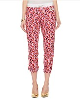Juicy Couture Micro Terry Marina Floral Slim Comfy Pant