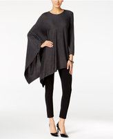 Alfani Knit Asymmetrical Poncho, Only at Macy's