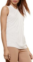 Lauren Ralph Lauren Twist Front Sleeveless Top