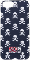 MC2 Saint Barth skulls print iPhone 7 case - men - Acrylic - One Size