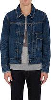 Rag & Bone Men's Bartack Cotton Denim Jacket-BLUE