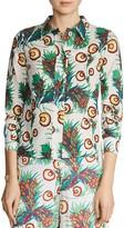 Maje Cawai Printed Shirt