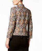 Kasper Petite Embellished Tweed Jacket