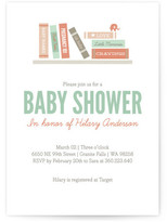 Minted Book It Baby Shower Invitations