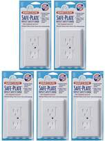 Mommys Helper Mommy's Helper Safe Plate Electrical Outlet Covers Standard 5 Pack, White