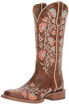 Ariat Women's Women's Carmelita Western Cowboy Boot