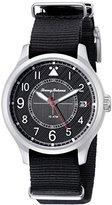 Tommy Bahama Men's 10018348 Island Scout Analog Display Japanese Quartz Black Watch