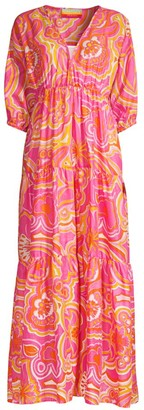 Trina Turk Arco Floral Maxi Dress