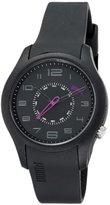 Puma Time Women's Quartz Watch Boost Black PU102352006 with Rubber Strap