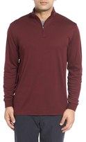 Cutter & Buck Men's 'Belfair' Quarter Zip Pima Cotton Pullover