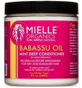Mielle Organics Babassu Oil & Mint Deep Conditioner 8 oz