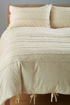 Nordstrom Sara Queen Duvet - Ivory Pearl