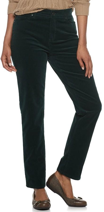 coupon code official sale classic fit Croft & Barrow Women's Pants - ShopStyle
