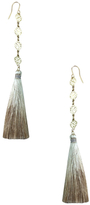 Vanessa Mooney The Estella 14K Yellow Gold Tassel Earrings