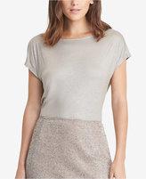 Lauren Ralph Lauren Metallic Jersey T-Shirt