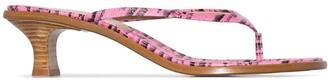 Sies Marjan Alix 40mm thong sandals