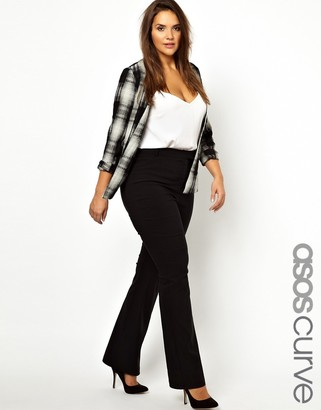 ASOS Workwear Trouser With Kick Flare