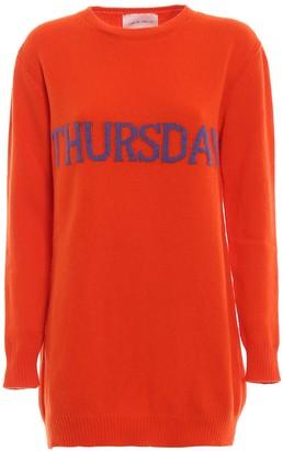 Alberta Ferretti Thursday Mini Sweater Dress