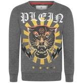 Philipp Plein Philipp PleinBoys Grey Platin Light Sweatshirt