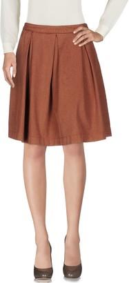 Monocrom Knee length skirts - Item 35342100JU