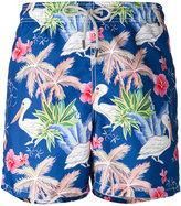 MC2 Saint Barth Gustavia swim shorts - men - Polyamide/Polyester/Spandex/Elastane - XL