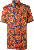 Alexander McQueen paisley print button down shirt - men - Cotton - 41