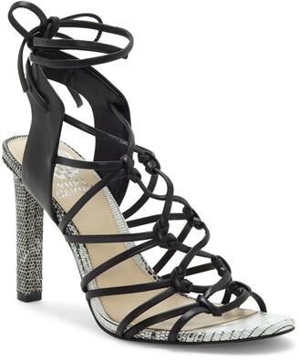 Vince Camuto Sherinda Cage Ankle Wrap Sandal
