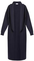 Raey Long-line shawl-collar wool cardigan