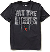 Under Armour Big Boys 8-20 Hit The Lights Short-Sleeve Graphic Tee